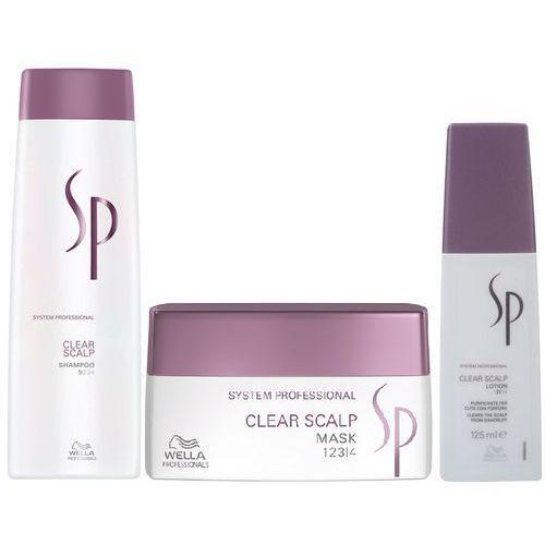 WELLA SP CLEAR SCALP SZAMPON 250ml + MASKA 200ml + TONIK 125ml - produkt z kategorii- Mycie włosów