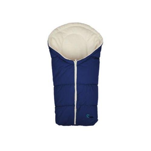 Altabebe śpiworek zimowy do fotelika kolor marine/whitewash marki Alta bebe