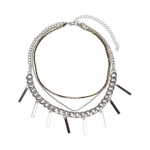 Cloe Naszyjnik łańcuszki srebrny - srebrny