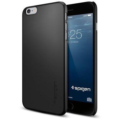 Oryginalne etui obudowa spigen sgp thin fit smooth black dla iphone 6 plus 5.5