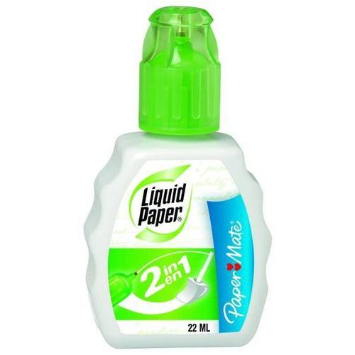 Korektor w płynie PAPER MATE LIQUID PAPER 2IN1 22 ml - X04989
