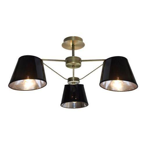 Lampa wisząca zwis Candellux Cortez 3x40W E14 patyna 33-54982, 33-54982