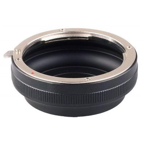 FoxFoto Adapter bagnetowy Micro 4/3 - Canon EF - produkt z kategorii- Tuleje i pierścienie redukcyjne