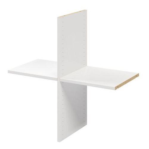 Półka krzyżak do korpusu 35 x 75 x 75 cm atomia biały 2 szt. marki Goodhome