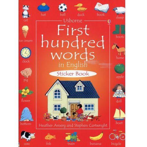 First Hundred Words in English - Heather Amery, Usborne Publishing Ltd