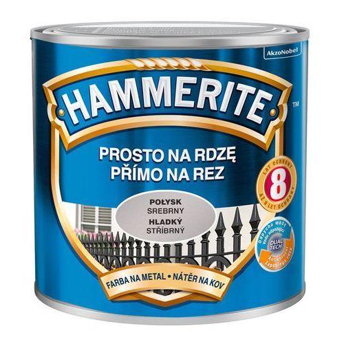 Prosto Na Rdzę - Efekt Połysk Srebrny 0,25L Hammerite (5011867040141)