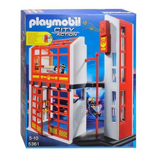 Playmobil CITY ACTION Kwatera straży pożarnej z alarmem 5361 rabat 5%
