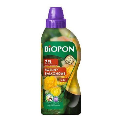 Biopon Nawóz do roślin balkonowych żel 0,5 l