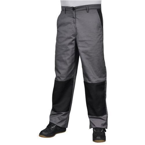vidaXL Męskie spodnie robocze Rozm. S Szare - produkt z kategorii- Pozostałe
