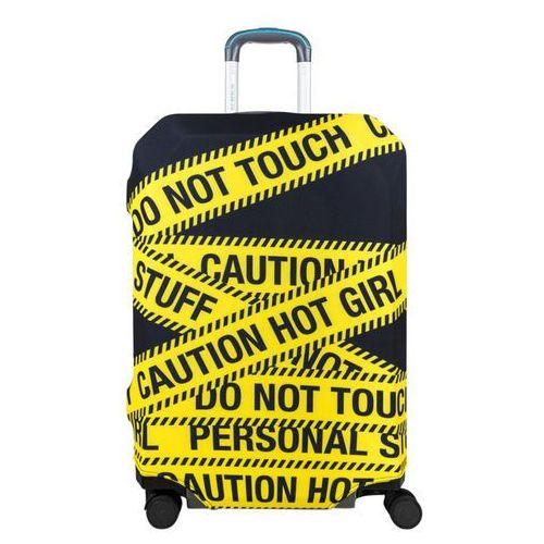 Bg berlin pokrowiec na dużą walizkę / rozmiar l / caution - caution (6906053042582)