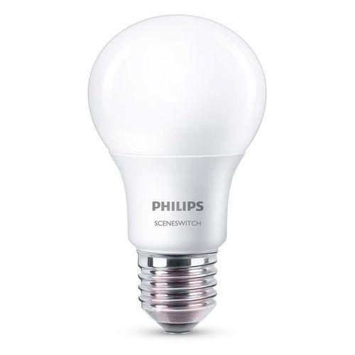 Philips lighting Żarówka led sceneswitch 8718696588840, e27, 8 w = 60 w, 806 lm, ciepła biel, 230 v, 15000 h, 1 szt.