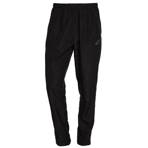 Asics  woven spodnie do biegania mężczyźni czarny s legginsy do biegania
