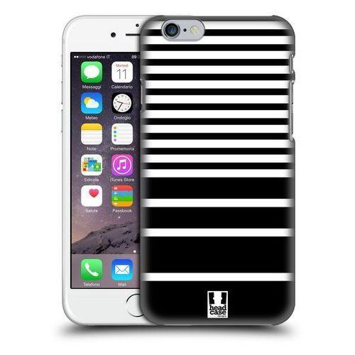 Etui plastikowe na telefon - Dynamic Stripes BLACK AND WHITE