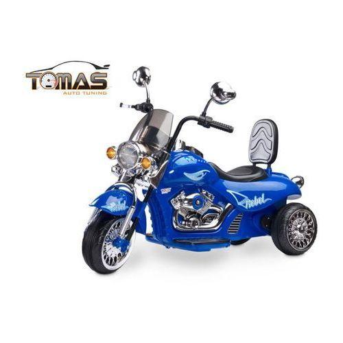 Motor motocykl Rebel na akumulator TOYZ Niebieski