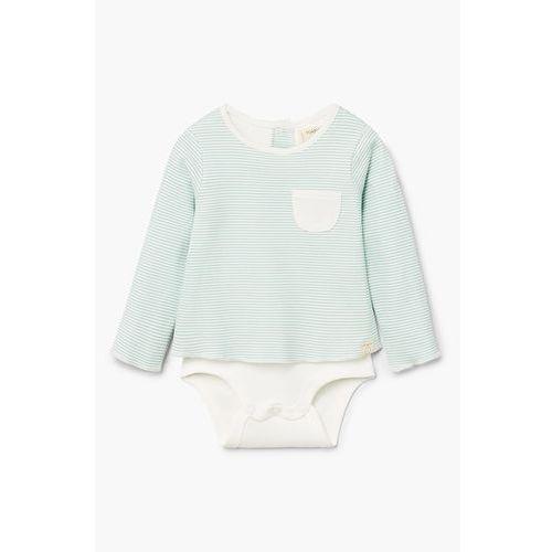 Mango kids - body niemowlęce sofi 62-80 cm