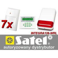 Satel Zestaw alarmowy integra 128-wrl, klawiatura lcd, 7 czujników ruchu, sygnalizator zewnętrzny spl-2030, powiadomienie gsm