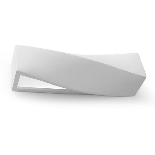 sigma sl.0003 kinkiet lampa ścienna 1x60w e27 biały >>> rabatujemy do 20% każde zamówienie!!! marki Sollux