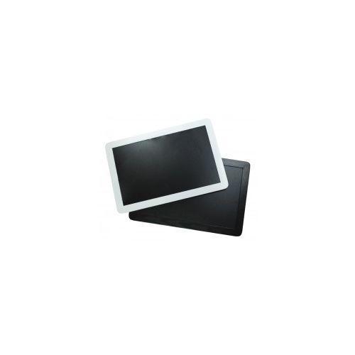 Tablica czarna kredowa w ramie drewnianej Smartphone białej 90x60 cm