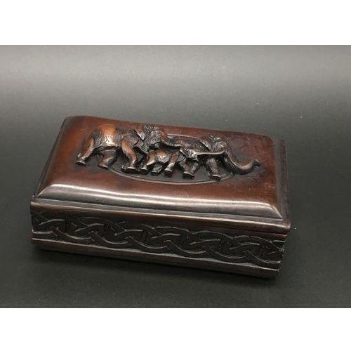 Pudełko - szkatułka - kamień dec012 marki Veronese