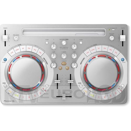 Kontroler DJ PIONEER DDJ WeGO4 Biały (4573201240699)