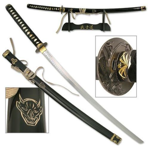 Usa Filmowa katana- miecz samurajski - kill bill + stojak (sw-320e)