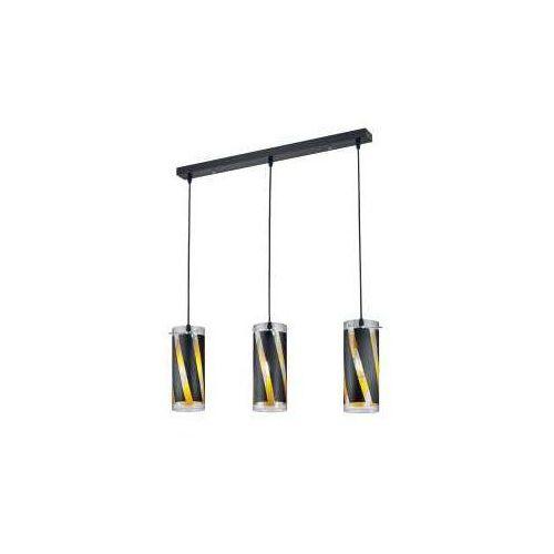 Lampa wisząca farina czarny, 3-punktowe - dworek - obszar wewnętrzny - farina - czas dostawy: od 3-6 dni roboczych marki Reality