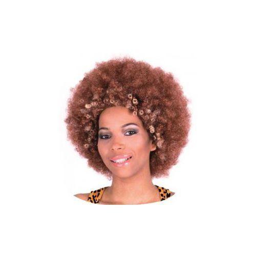 Godan Peruka brown afro - janusz kraszek