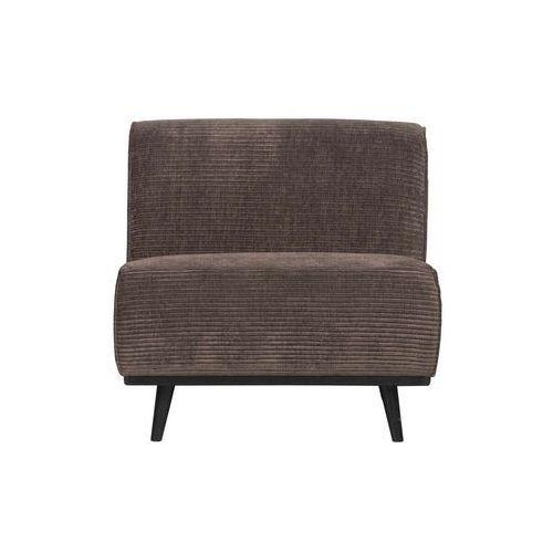 krzesło statement rib taupe 378654-t marki Be pure