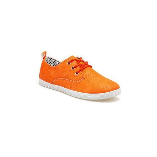 Buty sportowe orange, kolor pomarańczowy