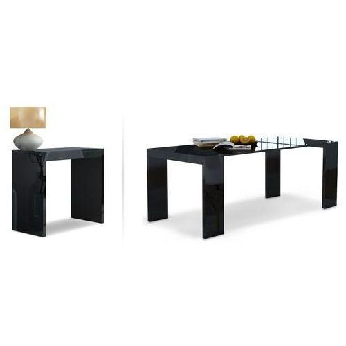 Stół-biurko lille połysk 2w1 rozkładane marki Pegie prestige