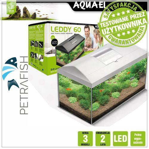 Aquael zestaw akwarium leddy pap 60 biały - darmowa dostawa od 95 zł! (5905546210249)