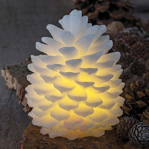 Sirius Sopel – świeca led clara wysokość 14 cm