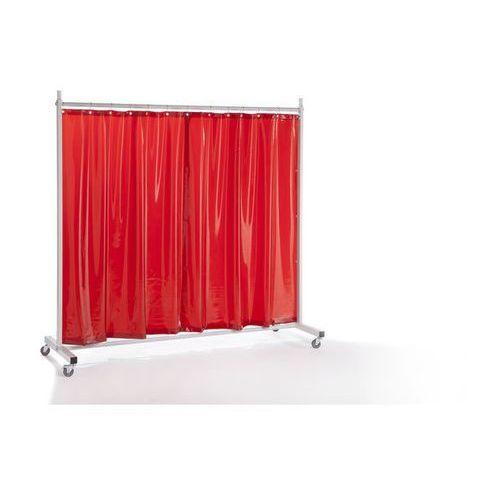 Ścianka ochronna dla spawacza PREMIUM, ruchoma,z zasłoną plandekową