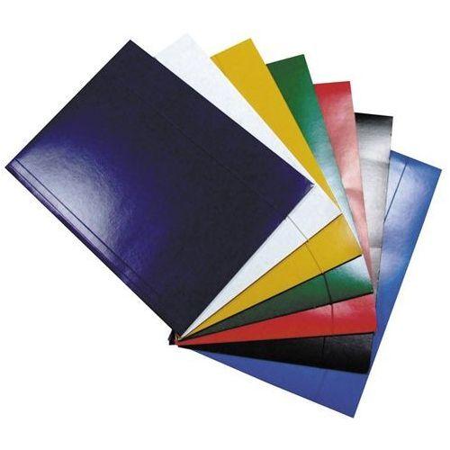 Teczka z gumką Idest, lakierowana, niebieska - Rabaty - Porady - Negocjacja cen - Autoryzowana dystrybucja - Szybka dostawa.