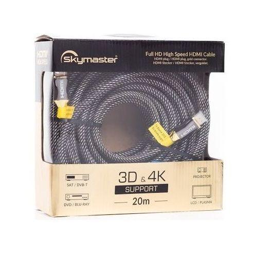 Kabel SKYMASTER HDMI - HDMI Gold 20m