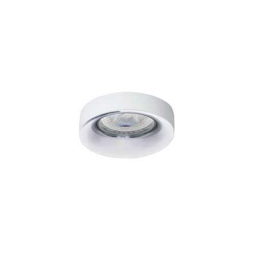 Kanlux Oczko halogenowe elnis 27806 lampa sufitowa wpuszczana downlight 1x35w gu10 / g5.3 białe / chrom (5905339278067)