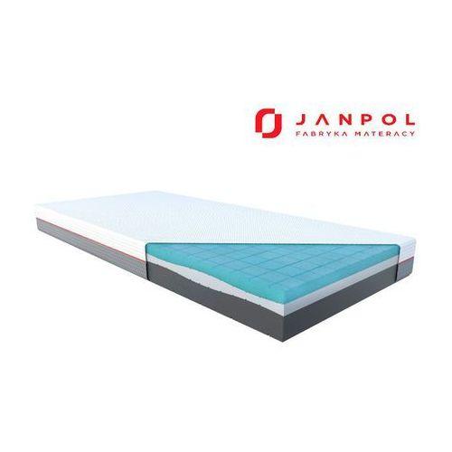 libera – materac piankowy, rozmiar - 160x200, pokrowiec - grey najlepsza cena, darmowa dostawa marki Janpol