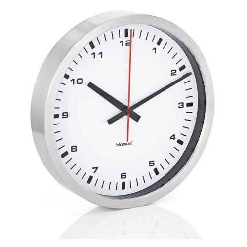 Blomus era - zegar ścienny z białą tarczą - 40 cm - 40 cm