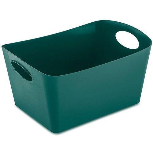 Miska łazienkowa boxxx, pojemnik, rozmiar m - kolor szmaragdowy, marki Koziol