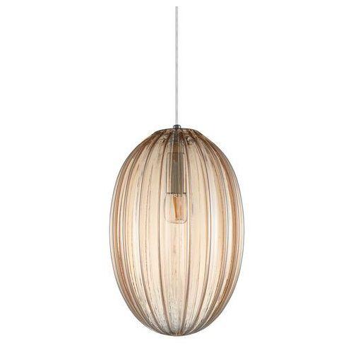 Italux parlo pnd-8112-1b-ch lampa wisząca zwis 1x40w e14 szampańska (5902854532698)