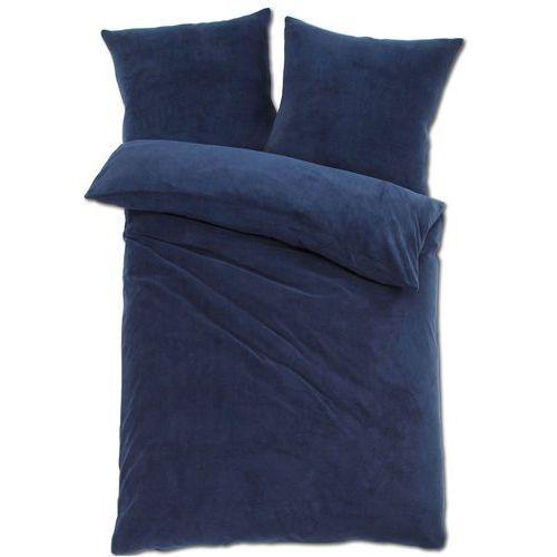 """Pościel """"cashmere touch"""" niebieski marki Bonprix"""