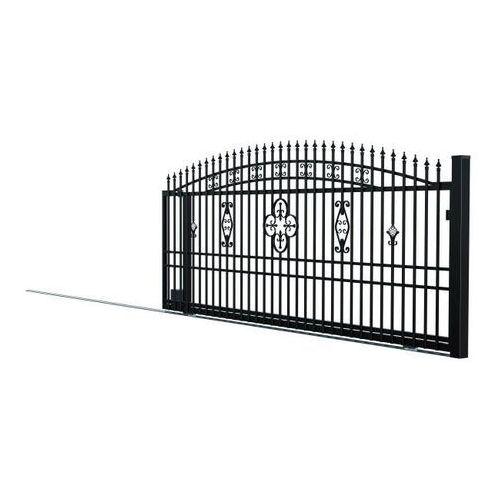 Brama przesuwna bez przeciwwagi Polargos Alicja lewa, W10364