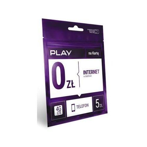 Play Starter - Lubię to! 5PLN - produkt w magazynie - szybka wysyłka!, PLAY DARMOWY INTERNET 5ZŁ
