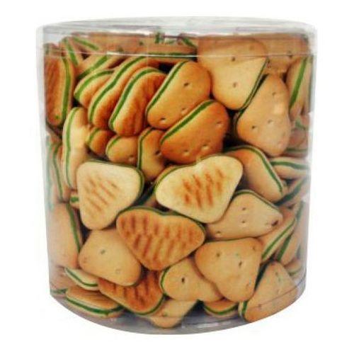 Prozoo Animale ciasteczka serduszka z zielonym nadzieniem 1,2kg