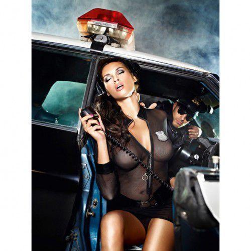 Przebranie policjantka - Baci Undercover Cop Set S/M