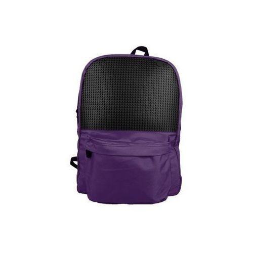Plecak miejski fioletowo czarny (6955185807040)