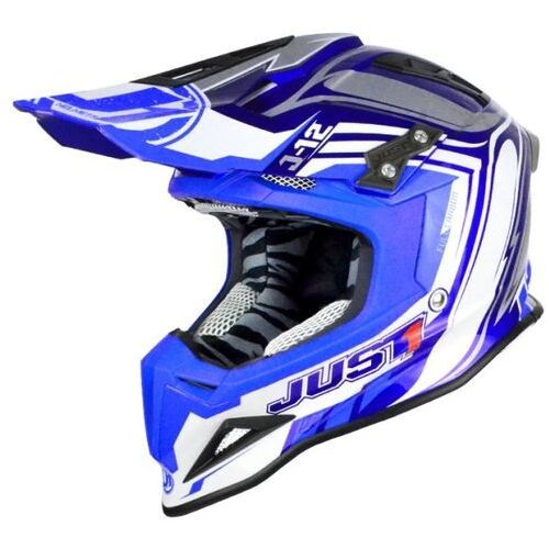 Just1 Kask j12 flame blue