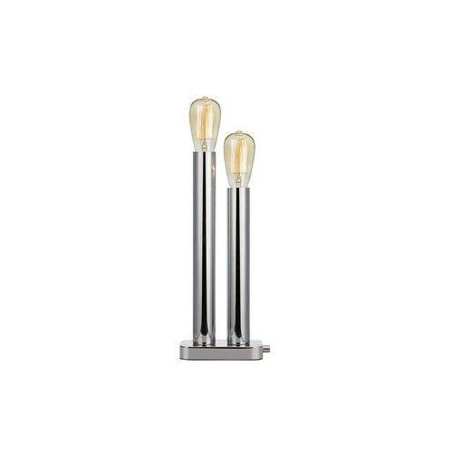 Stojąca LAMPA stołowa MIDTOWN 107406 Markslojd nocna LAMPKA metalowe słupki do sypialni chrom, 107406