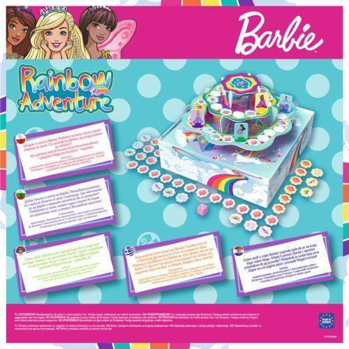 Trefl Barbie rainbow adventure