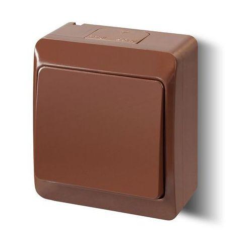 Elektro-plast nasielsk Hermes łącznik jednobiegunowy/schodowy ip44 0331-06